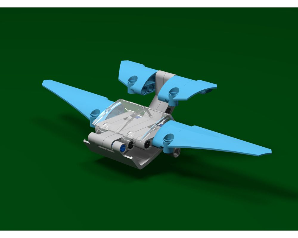 Lego Moc 28456 Two Person Glider