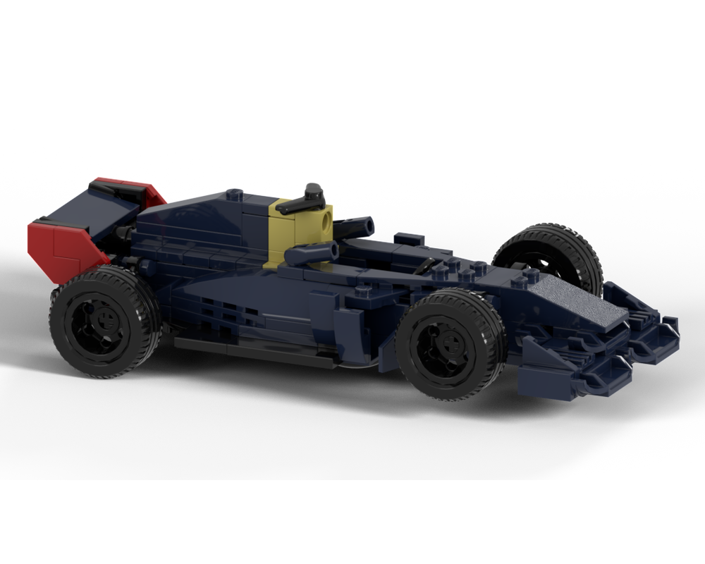 Lego Moc Max Verstappen Red Bull Racing Rb15 Formula 1 Car By Startbricking Rebrickable Build With Lego