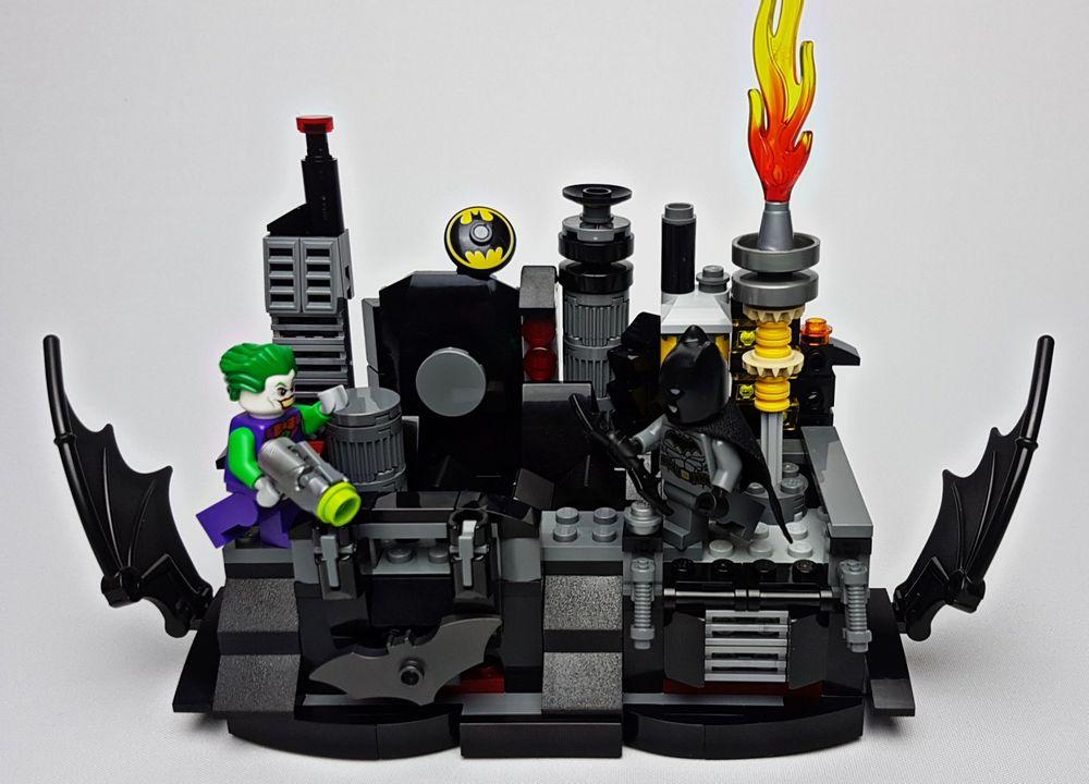 LEGO MOC-29131 76119 - Gotham Roof Top Battle (Super Heroes