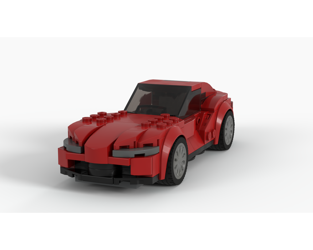 Lego Moc 2019 Toyota Supra Mk5 A90 Speed Champions By Dmckitt Rebrickable Build With Lego