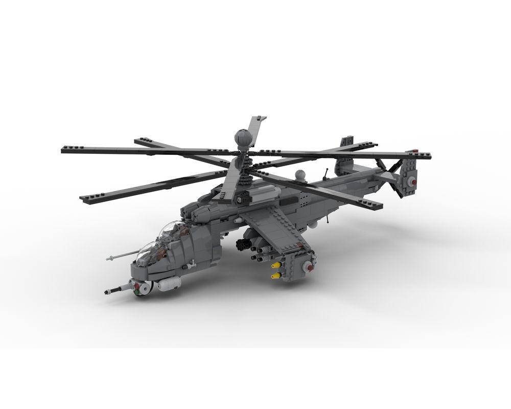 LEGO MOC Mil Mi-24 Z | HIND Z - Minifigure Scale by DarthDesigner |  Rebrickable - Build with LEGO