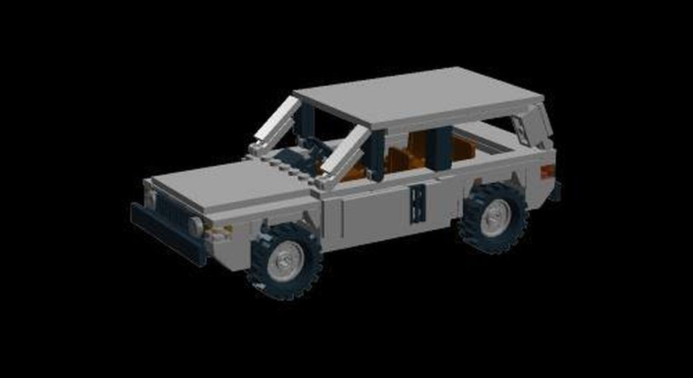 LEGO MOC-3135 Range Rover Classic (Town 2015) | Rebrickable