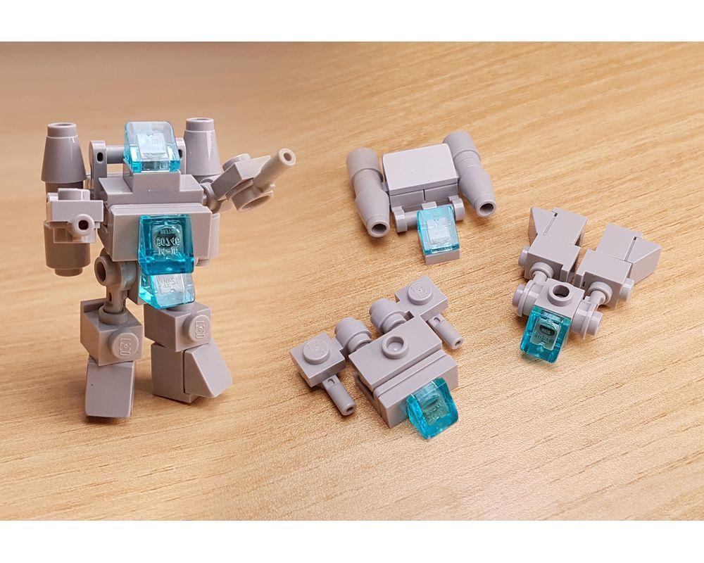 LEGO MOC-32031 LEGO Mini Robot Tutorial Combiner ...