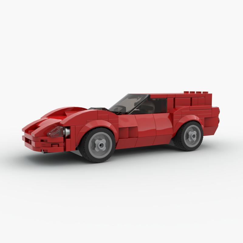 Lego Moc Ferrari 250 Gt Swb Breadvan By Joey Bricks Things Rebrickable Build With Lego