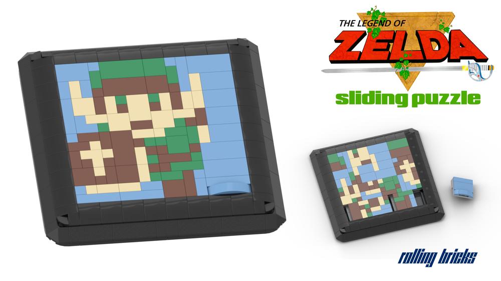 Lego Moc 34201 8 Bit Zelda Sliding Puzzle Game Creator