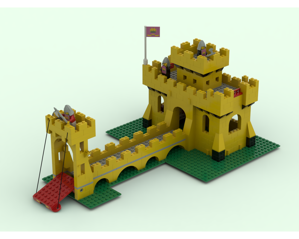how to make a lego castle