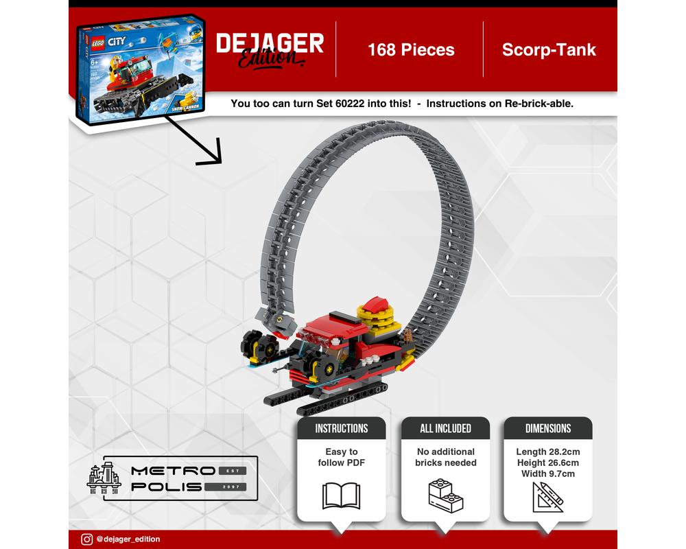 Lego Moc 34319 Scorp Tank Other 2020 Rebrickable