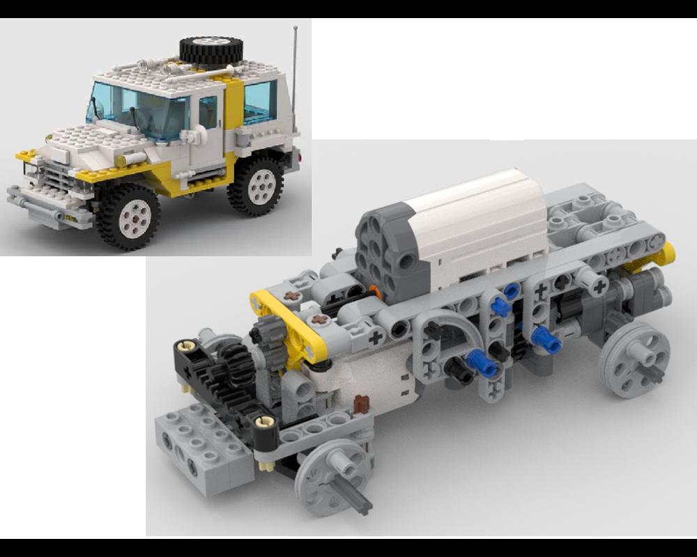 Lego model team
