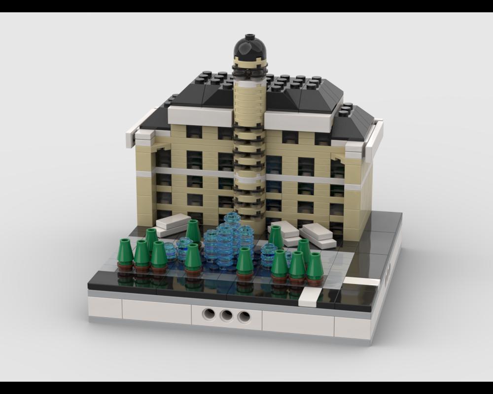 LEGO MOC-34544 Bellagio Hotel for Modular City Las Vegas ...