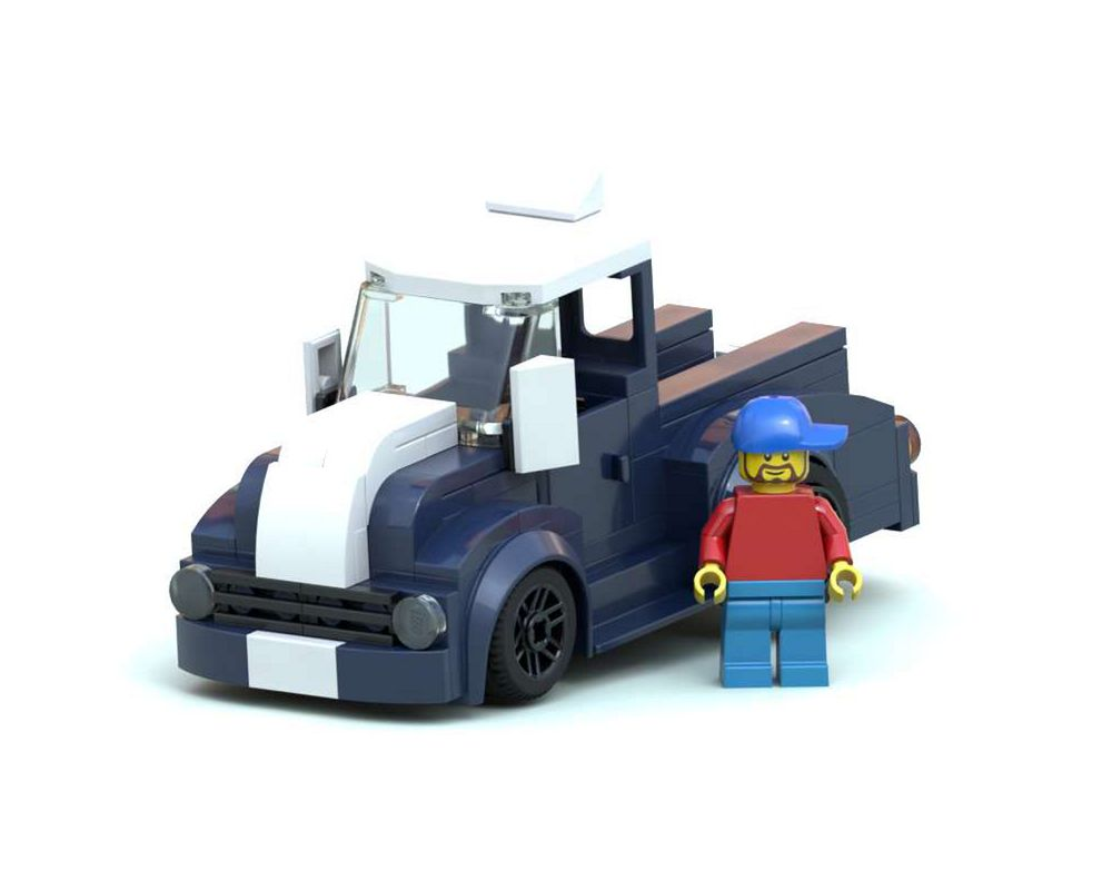 Lego Moc 34739 Pick Up Town Gt City 2020 Rebrickable