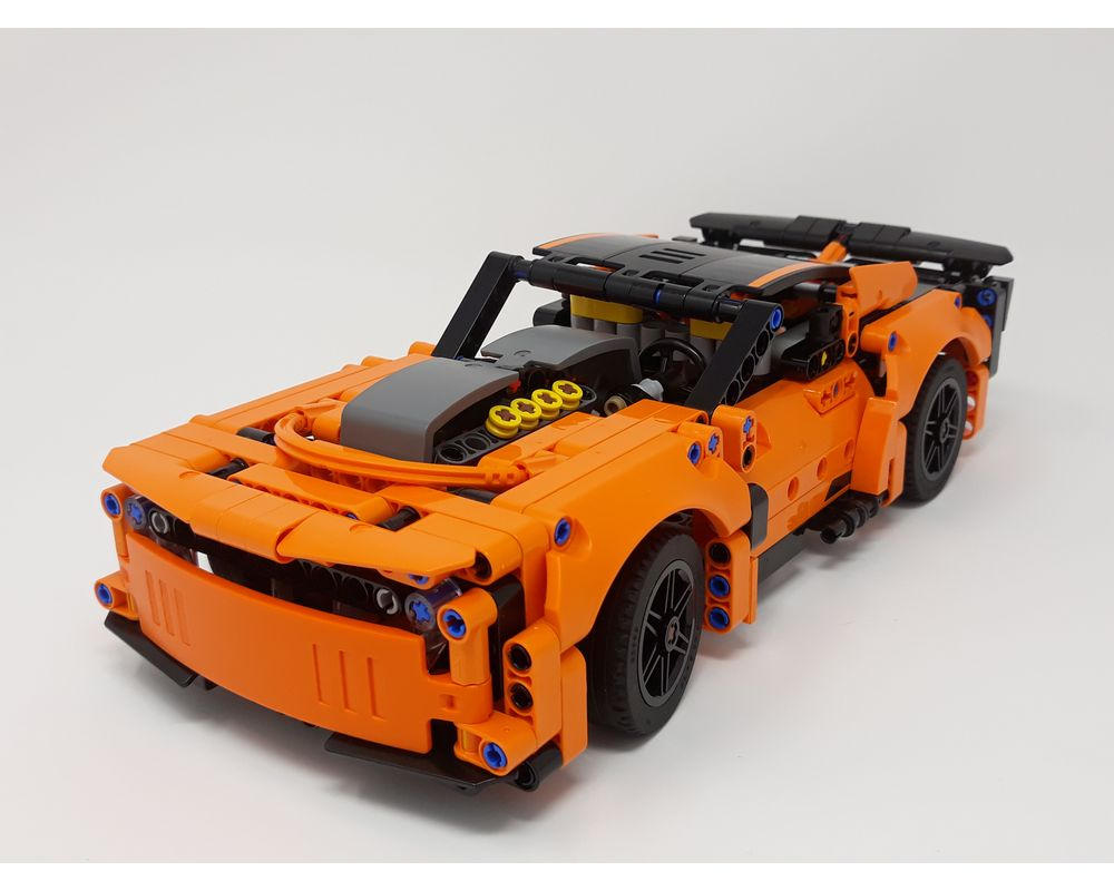 LEGO MOC-35366 42093 Dodge Challenger (Technic > Model 2019) | Rebrickable - Build with LEGO