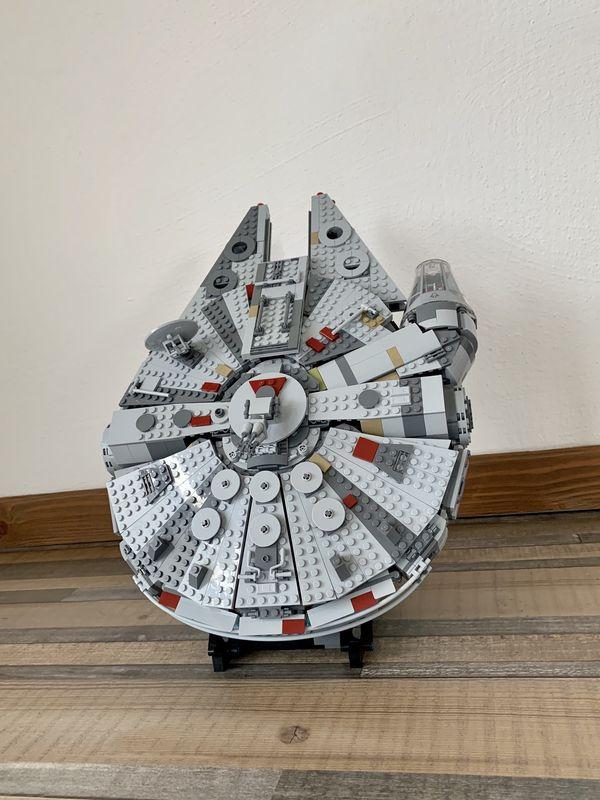 Display Stand Coudé Bk 20 ° pour lego 75257-75212-75105-4504 Faucon Millenium
