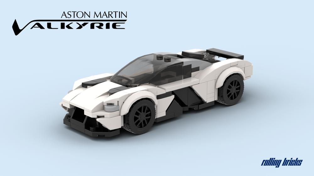 Lego Moc Aston Martin Valkyrie By Rollingbricks Rebrickable Build With Lego