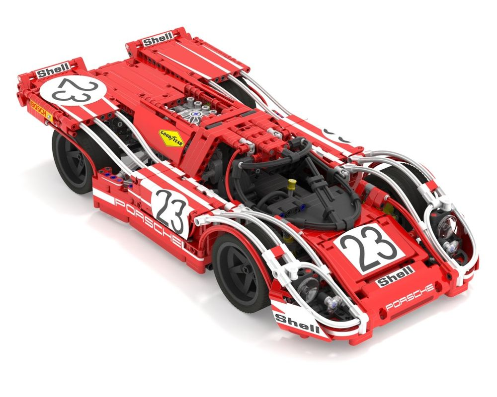 Lego Moc 3600 Porsche 917k No23 Technic Model Race