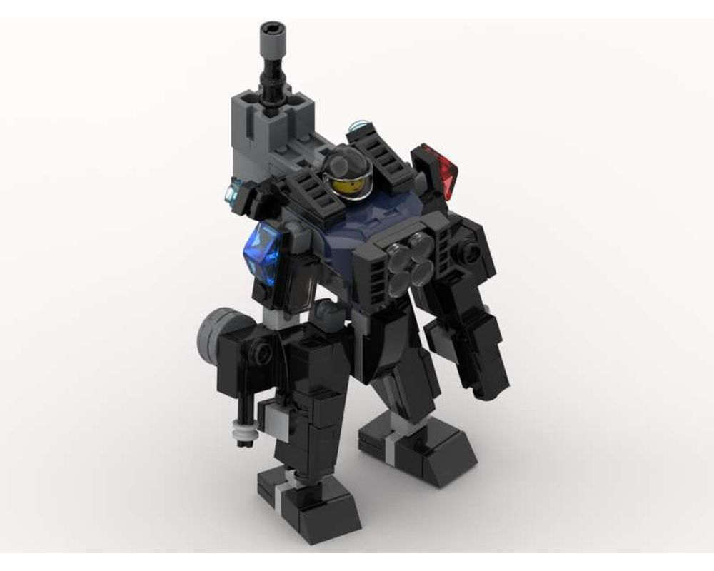 LEGO MOC Battle Suit (With Weapons) by meregt ...