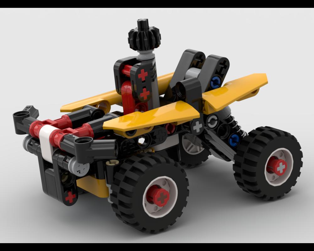 LEGO MOC Quad Bike by kornieff | Rebrickable - Build with LEGO
