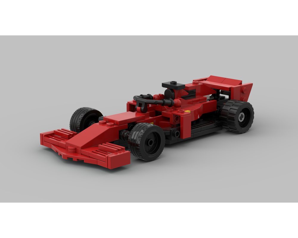 Lego Moc 2020 Ferrari F1 Car By Clemsie Mckenzie Rebrickable Build With Lego