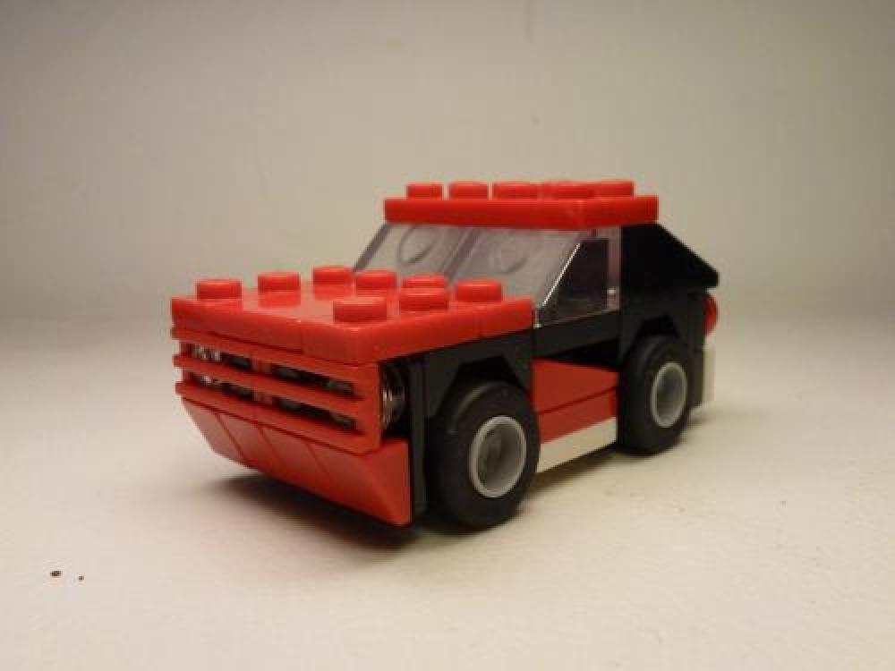 Lego Moc 3825 30187 Dodge Charger 69 Creator 2015