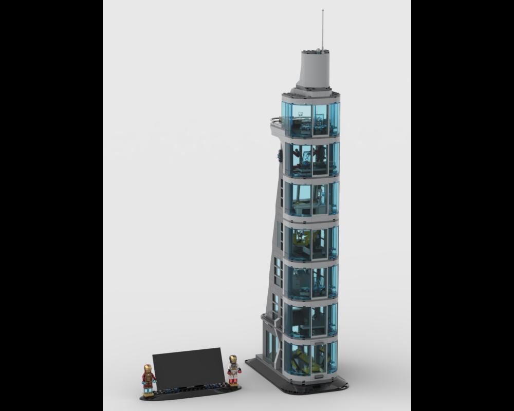 LEGO MOC-38504 7 Storey Avengers Tower (Super Heroes ...
