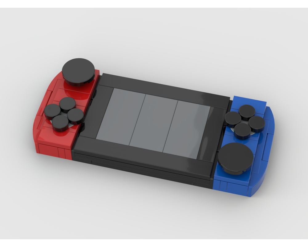 Lego Moc Nintendo Switch By Buildmaster Rebrickable Build With Lego