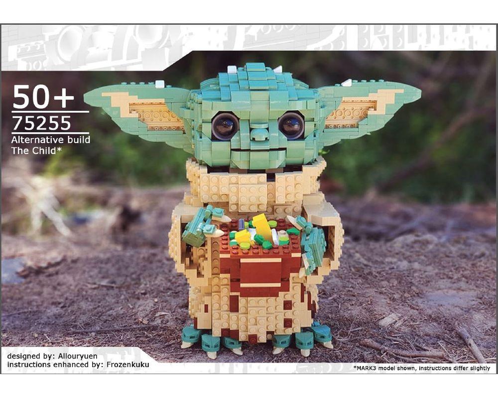 LEGO MOC-38952 The Child, aka Baby Yoda (Star Wars > Ultimate ...
