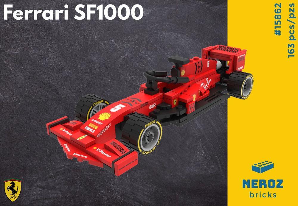 Lego Moc Ferrari Sf1000 By Neroz Rebrickable Build With Lego