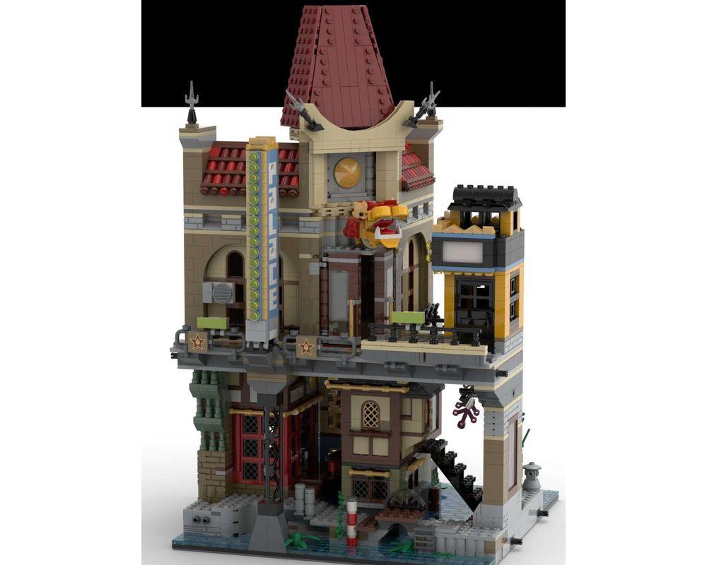 LEGO MOC-39482 Ninjago City Cinema (Ninjago > Ninjago The ...