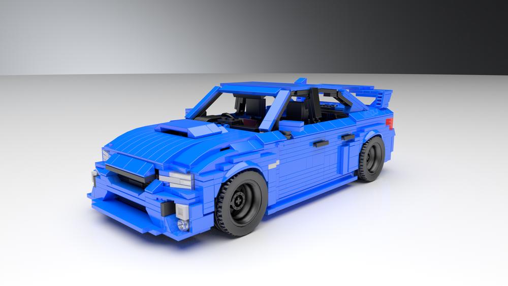 Lego Moc Subaru Wrx Sti 2020 Va Stock Widebody Bundle By Dm Designs Au Rebrickable Build With Lego