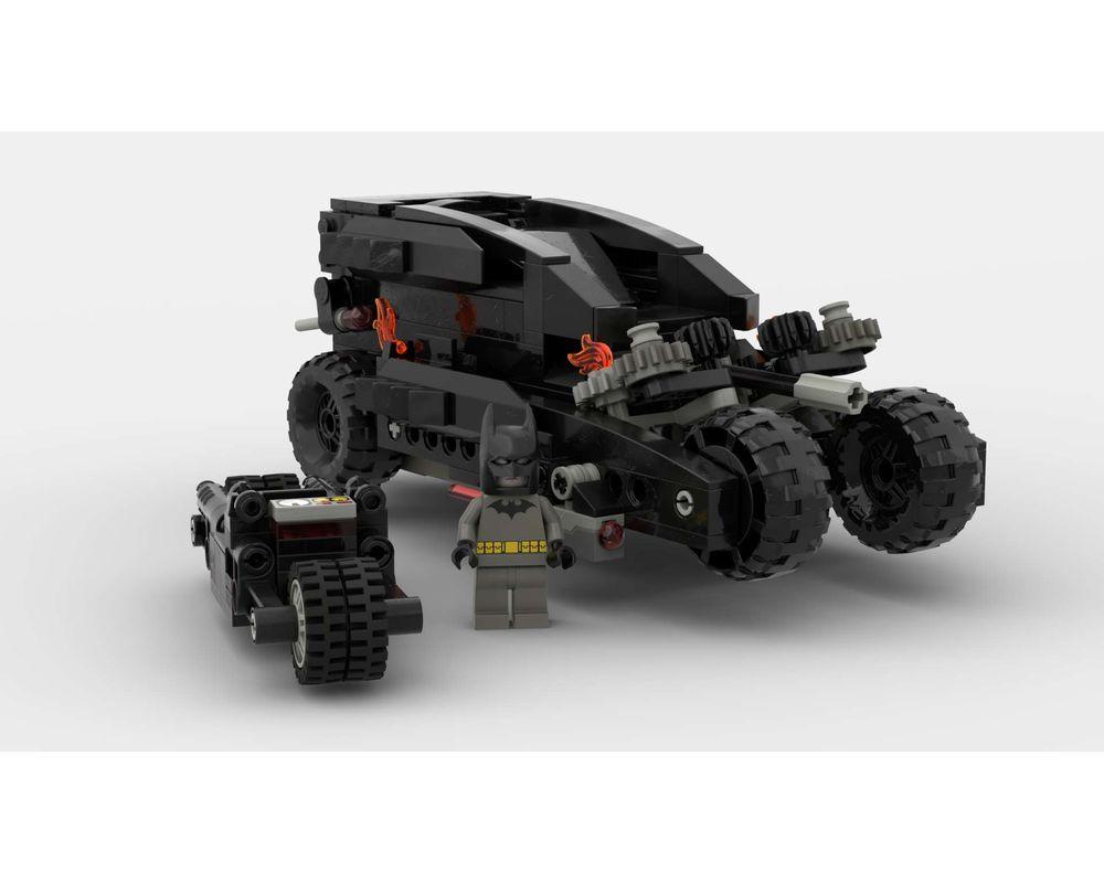 LEGO MOC-40915 All-New Batmobile with its Batpod (Super ...