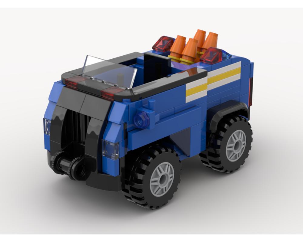 Lego Moc Paw Patrol Chase S Policecar By Chricki Rebrickable Build With Lego