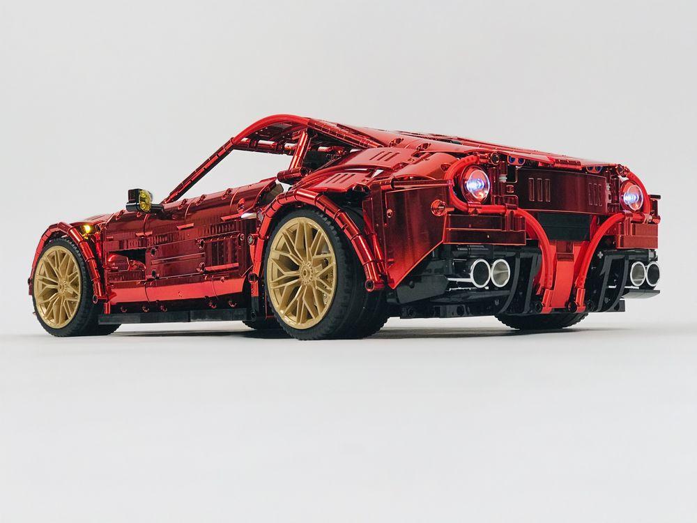 Lego Moc Ferrari F12 By Loxlego Rebrickable Build With Lego