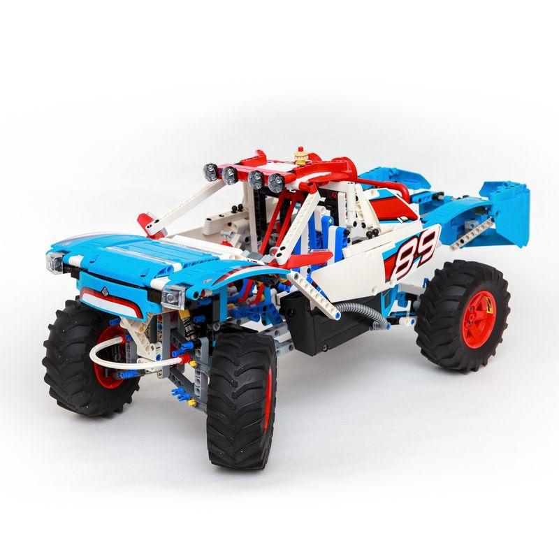 CUSTOM Technic hypercar RACER CAR 42065 42099 42110 i blocchi predefiniti blocchi MOC