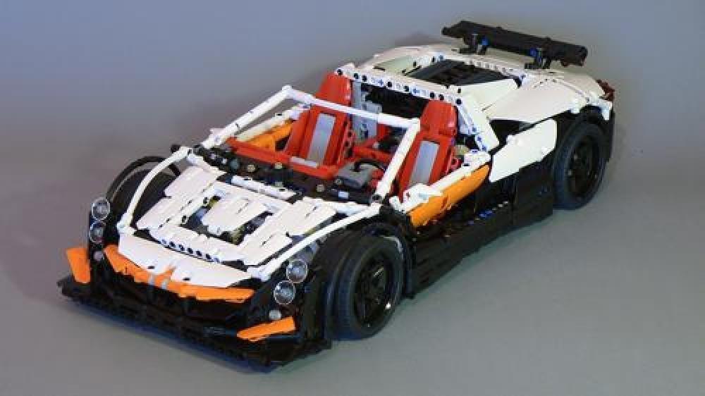 LEGO MOC-4176 Simple Supercar (Technic 2015) | Rebrickable