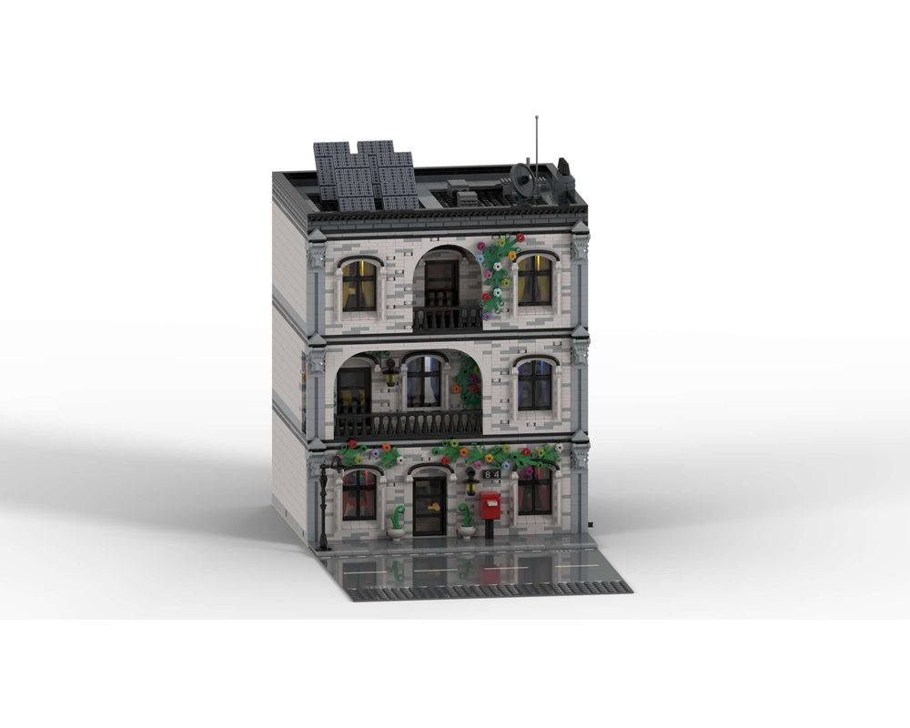 Street sight moc 41871 home sweet home by m4rchino84 mocbrickland