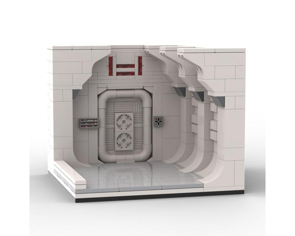 Lego Moc 42402 Tantive Iv Corridor Vignette Star Wars Mini Star Wars Episode 4 5 6 2020 Rebrickable Build With Lego