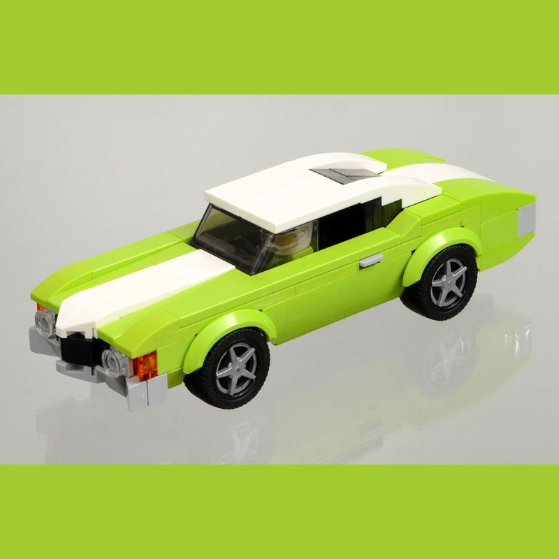 Lego Moc 1971 Chevrolet Chevelle By Carbohydrates Rebrickable Build With Lego