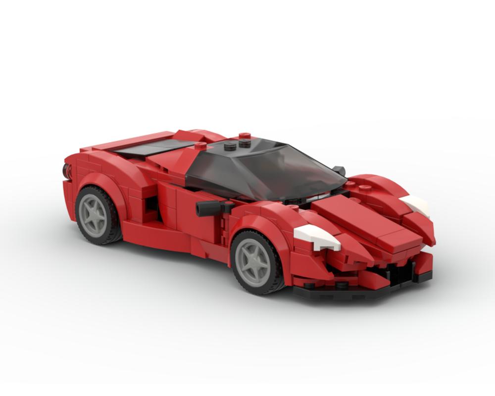 Lego Moc Ferrari Enzo V2 By Legotuner33 Rebrickable Build With Lego