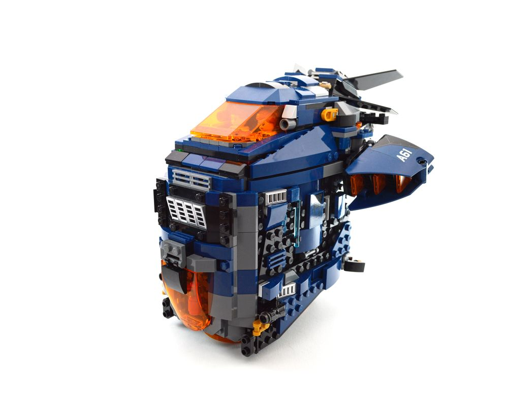 LEGO MOC-45768 Avengers Speeder (Super Heroes Marvel 2020 ...