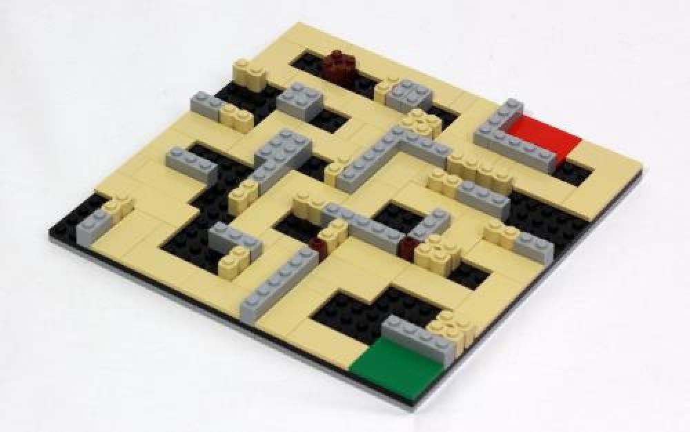 LEGO MOC-4660 Trainer Maze (LEGO Ideas and CUUSOO 2016