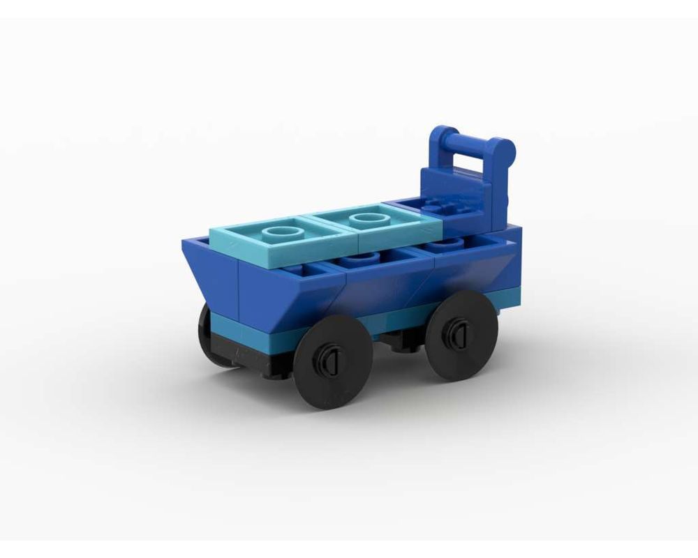 Lego Moc 11006 Shopping Cart By Tavernellos Rebrickable Build With Lego