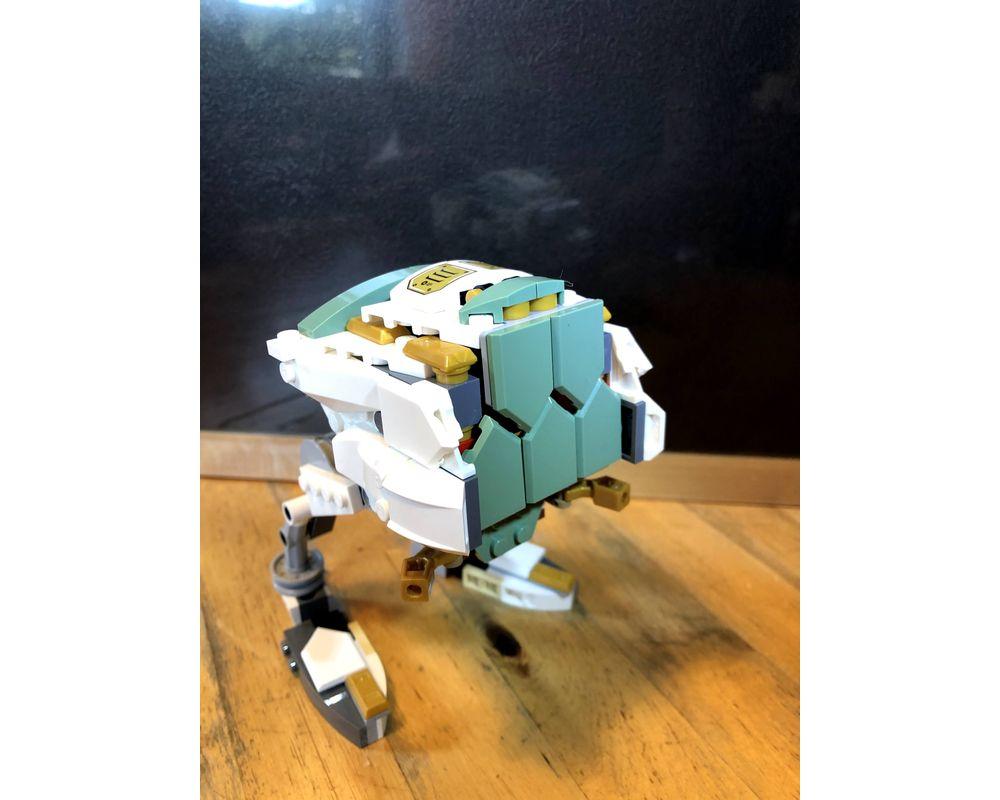 Lego Moc Lego Ninjago 70676 Lloyd S Titan Mech Minor Alternate Build Lloyd S At At By Muffiman Rebrickable Build With Lego