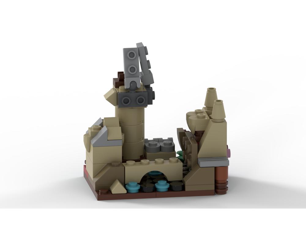 LEGO MOC 40411 - Hogwarts Castle by UnlocktheBrick ...