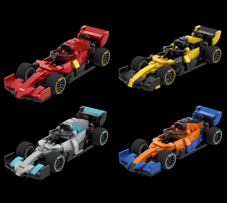 Lego Moc 2020 F1 Car Bundle By Sebigwon Rebrickable Build With Lego