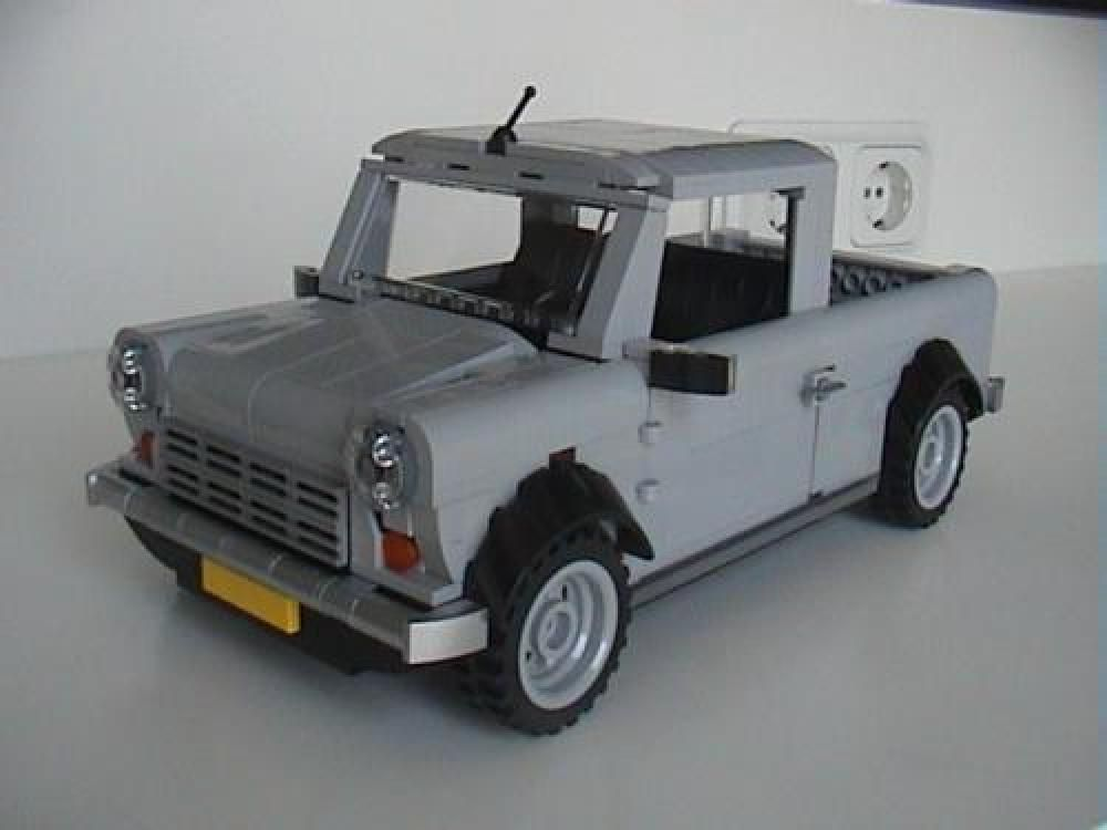 Lego Moc 5211 Mini Cooper Pick Up Creator 2016 Rebrickable