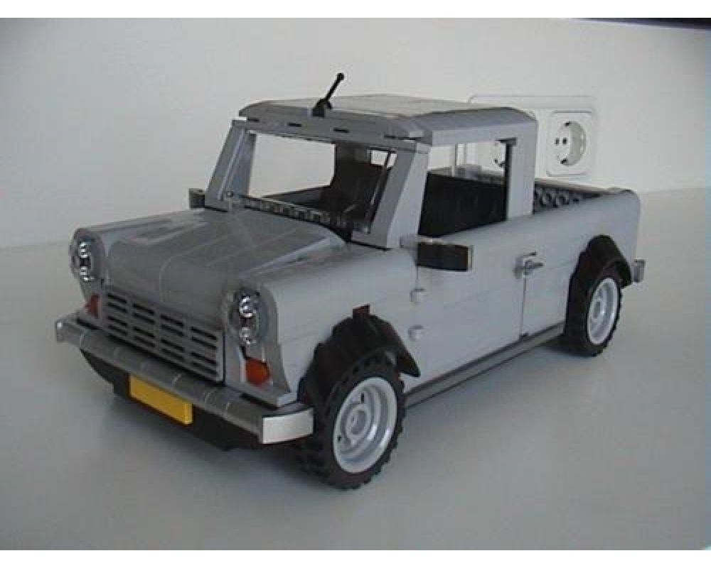 LEGO MOC-5211 Mini Cooper Pick-Up (Creator 2016 ...