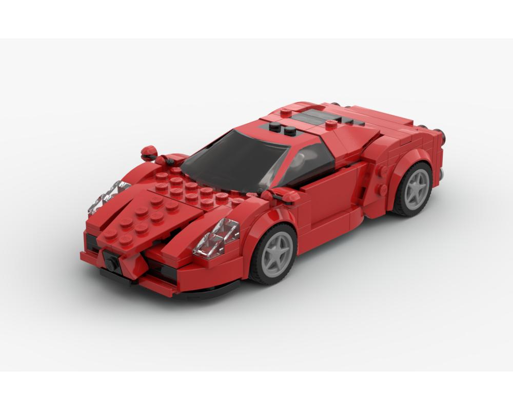 Lego Moc Ferrari Enzo V2 By Fakhri Argya Rebrickable Build With Lego
