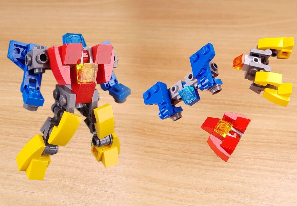 LEGO MOC MOC - Mini transformer mech - Zetta robo (without ...