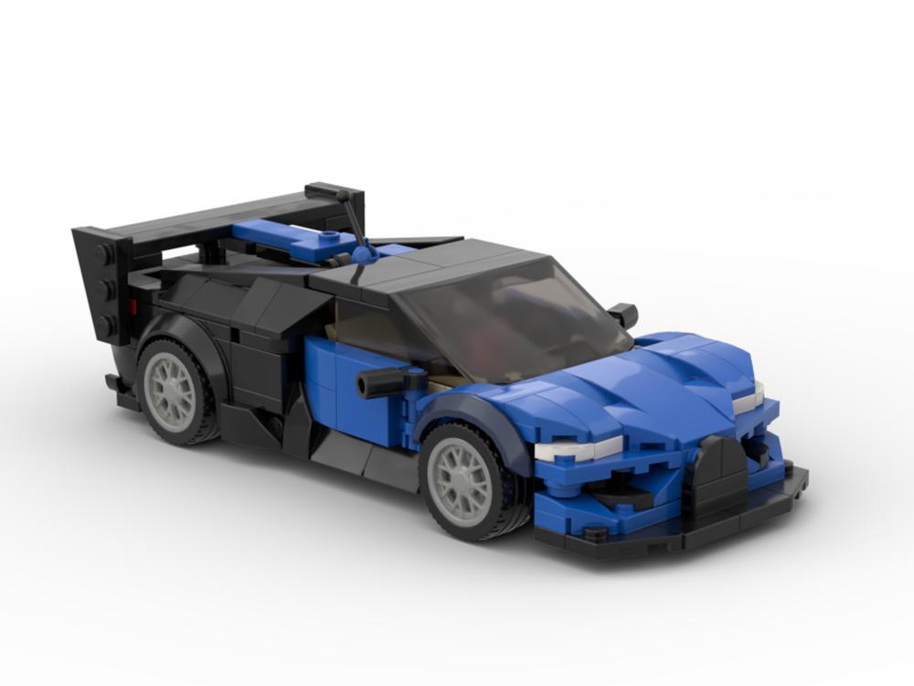 Lego Moc Bugatti Vision Gt By Legotuner33 Rebrickable Build With Lego