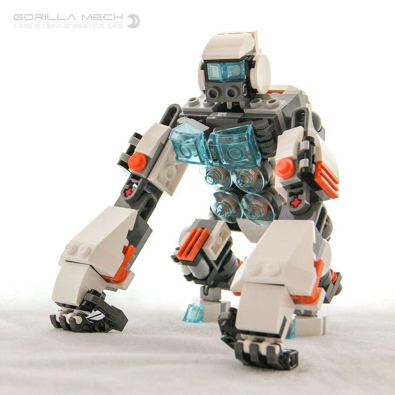 LEGO MOC-5715 Gorilla Mech (Creator > Model > Creature 2016