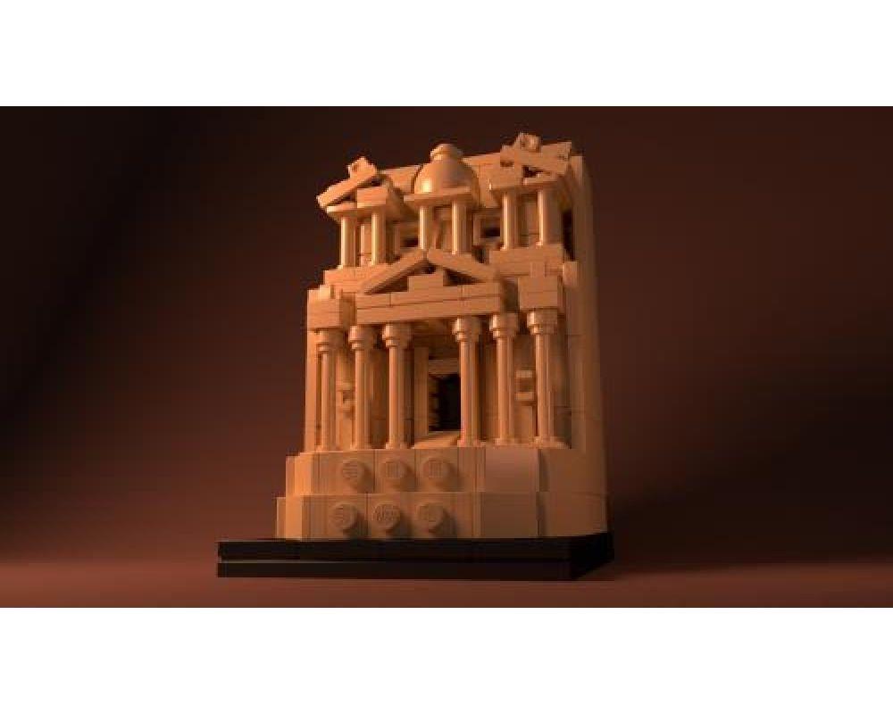 Petra Temple Lego Compatible